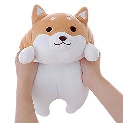 Levenkeness Shiba Inu Dog Plush Pillow, ...