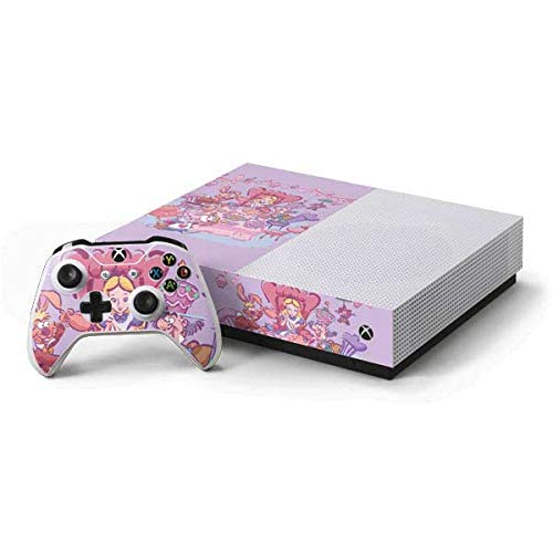 Skinit Decal Gaming Skin for Xbox One S All-Digital Edition Bundle - Officially Licensed Disney Alice in Wonderland Tea Party