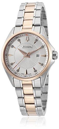 (Accutron by Bulova Women's 65P108 Brussels Two-Tone Watch)