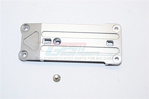 Aluminum Suspension Holder - Traxxas X-Maxx 4X4 Upgrade Parts Aluminum Front Suspension Holder - 1Pc Set Gray Silver