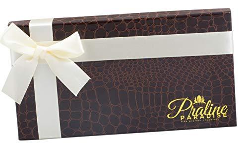 - Praline Paradise Chocolate Truffles Gift Boxes (18 peice)3 Gourmet deluxe flavors, Elegant Day Box, Gift Idea