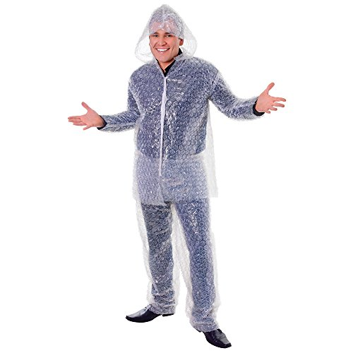 Bristol Novelty AC570 Bubble Wrap Costume, Unisex-Adult, Medium]()