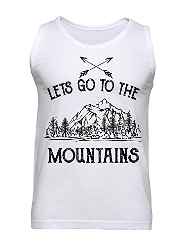 Let's Go To The Mountains Men's Tank Top