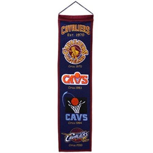 Cleveland Cavaliers Logo Evolution Heritage Banner ()