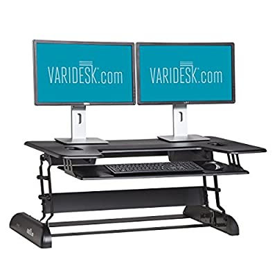 VARIDESK - Height-Adjustable Standing Desk - Cube Plus 40