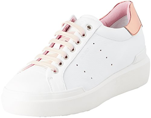 Bogner Hollywood 1, Baskets Femme Wei? (White/Rose)