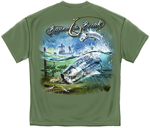 Fishing Videos | Tuna Time Off Shore Fishing T Shirt ADD-BTB2377-5XL