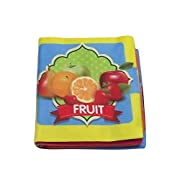 Intelligence Development Baby Soft Cloth Book for 0-3 Years Old Babies Learn Fruits
