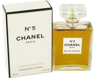 C h a n e l No.5 3.4oz Women's Eau de Parfum 100mL Brand New 3.4 oz