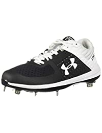Under Armour Mens Yard Low St Opt. 3 Metal Baseball Shoe