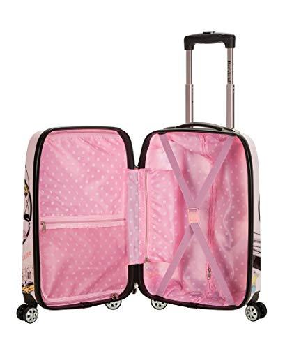 Rockland Departure Hardside Spinner Wheel Luggage Set, New York, 2-Piece (20/28)