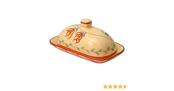 new product 41456 17d8b Pfaltzgraff Napoli Covered Butter Dish