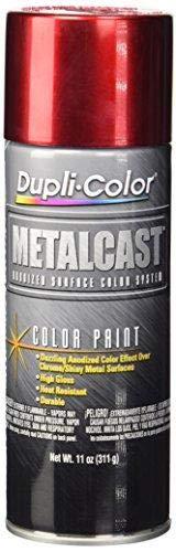 metallic red spray paint - 1
