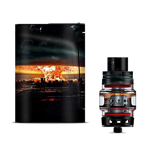 - IT'S A SKIN Decal Vinyl Wrap for Smok V-Fin 160w kit Vape Stickers Cover/Mushroom Cloud, Atom Bomb