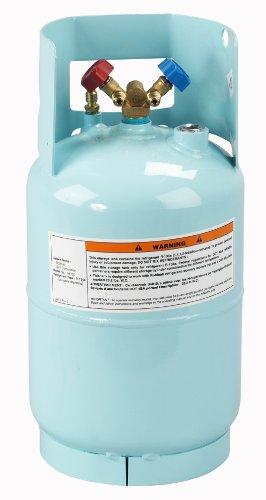 Robinair (34102) Refrigerant Tank for R-134a - 30 lbs. - 134a Refrigerant