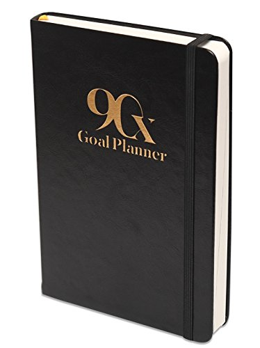 90X Goal Planner - Productivity Organizer Planner - Self Journal , Includes Motivational Vision Board with To Do List Planner and Undated Calendar Days
