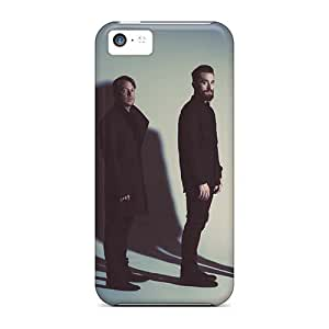 Shock Absorption Cell-phone Hard Cover For Iphone 5c (DFP18199DVHd) Provide Private Custom HD Incubus Band Image