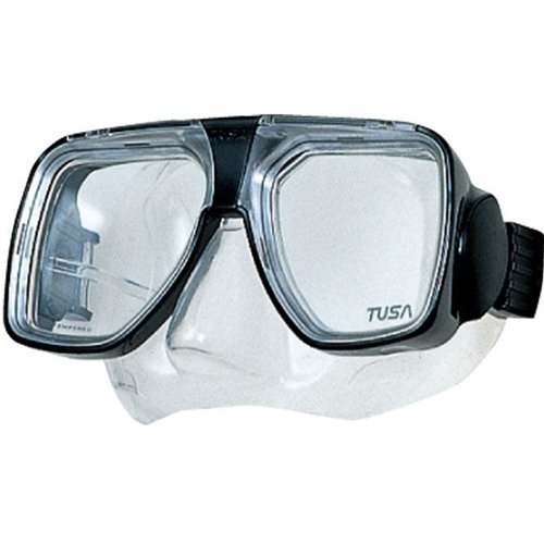 Tusa Liberator Plus Scuba Mask-Black-ONE
