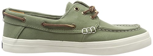 Green Resort Boat Kaki Denim Top Crest Women's Sider Sperry Olive 55 g7w8CU