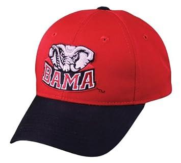 a1f824a663f2b Alabama Crimson Tide Adjustable Velcrom Cap/Hat NCAA Official Licensed  Collegiate Baseball/Football Hat