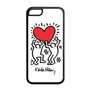 Painted ZQ Keith Haring TPU Hard back phone Case cover iPhone 6 (4.5)
