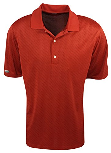 Greg Norman Golf- Jacquard Polo