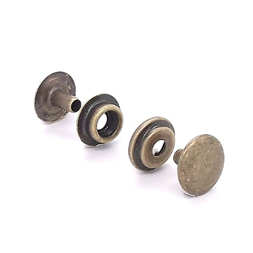 Line 20 Snap Antique Brass 100 Pack 1261-25 by Stecksstore