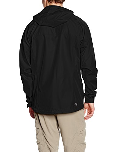 Negro Powertex Lluvia Black Chaqueta 0730 Out Salewa Andraz tqCwZtgI