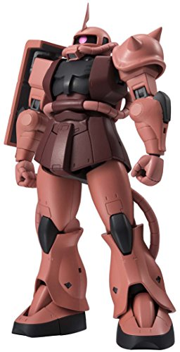 Gundam MS-06S Zaku II Char's Custom Model ANIME Version Robot Spirits Action Figure