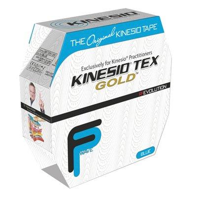 DSS Kinesio Tape, Tex Gold FP (Blue)