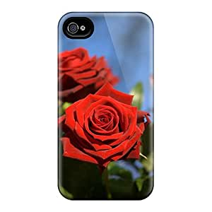 Perfect Passion Red Roses Cases Covers Skin For Iphone 6 Phone Cases