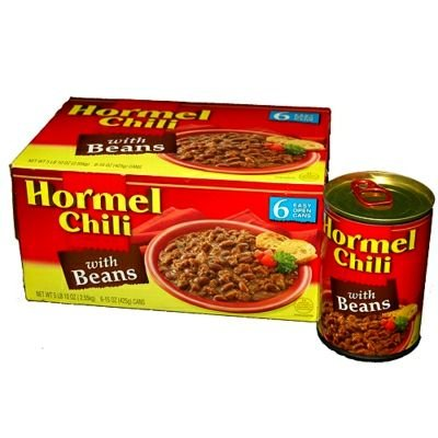 Hormel Chili No Beans - 6/15 oz. (Best Chili Without Beans)