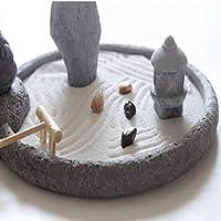 Laogg Jardin Zen Estilo Japonés Montaña Seca Buda Estatua Arena ...