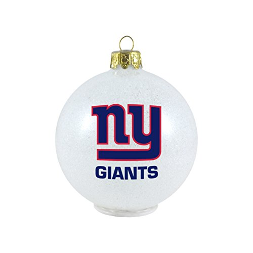 NFL Giants LED Color Changing Ornament