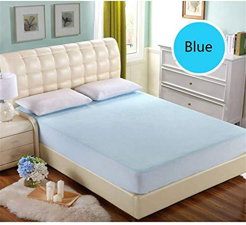 TPU Bed Protection Pad Waterproof Hypoallergenic Mattress by BFY (Image #1)
