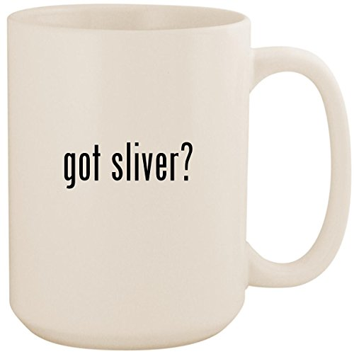 got sliver? - White 15oz Ceramic Coffee Mug Cup