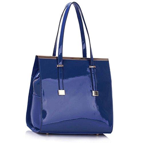 Xardi London - Bolso al hombro de Otra Piel para mujer azul