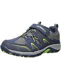 timeless design 43aa8 cbe3c Boys  Trail Chaser Sneaker, Navy Green,2.0 Medium US Little Kid