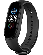 Smart Band M5 Aktivitetsspårare, Fitness Tracker, Smart armband M6,0,96-tums skärm, pulsmätare/ta bilder/kontrollera musik/stegräknare, för Android och iOS-system