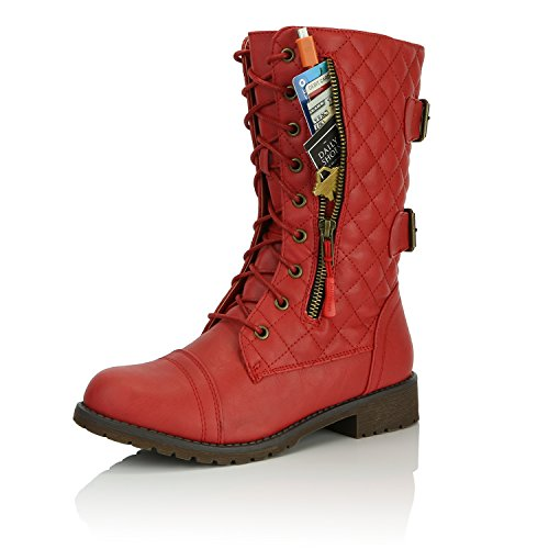 red boots size 11 - 9