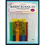 WIKKI STIX ANIMALS OF THE BIBLE SUNDAY SCHOOLKIT