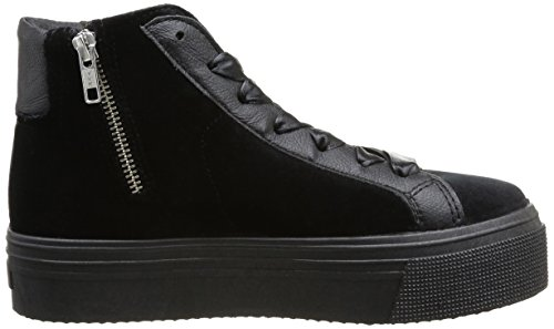 No Box Bristol Damen Sneaker Schwarz - Noir (Velours Black)