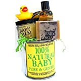 100% Natural Baby Gift Set (Rubber Ducky)