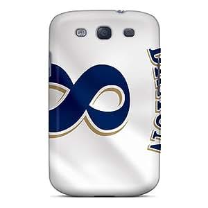 ZEF4606JfeV Milwaukee Brewers Awesome High Quality Galaxy S3 Case Skin