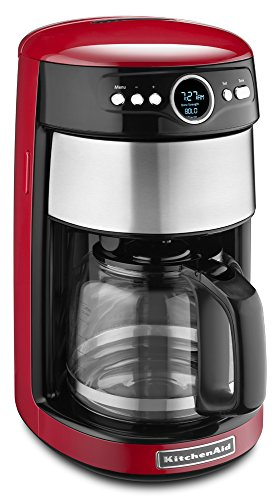 KitchenAid KCM1402ER 14 -Cup Glass Carafe Coffee Maker - Empire Red