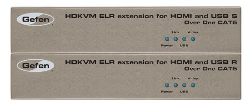 (HDKVM ELR Extender for HDMI and USB over One CAT5 )