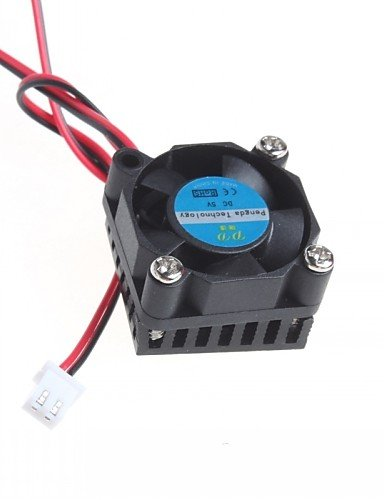 K-NVFA Ventilador 3cm radiador ventilador de la tarjeta ...
