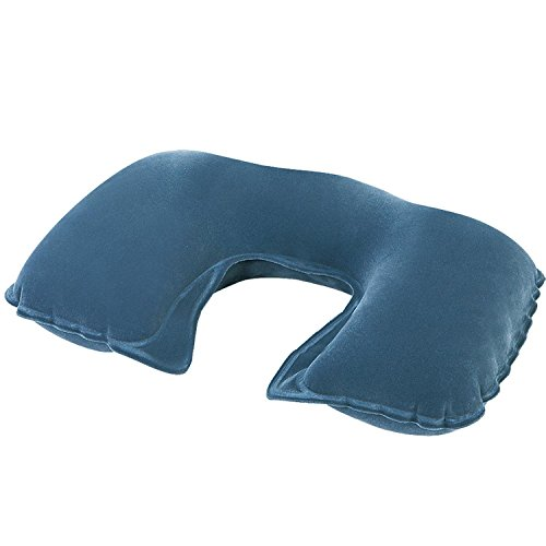 """Pool Central 18"""" Gray Inflatable Travel Comfort Air Neck Pil"""
