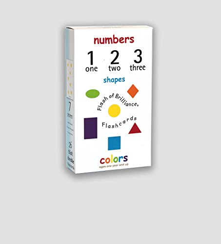 Flash of Brilliance Numbers Shapes and Colors Flash Cards with Spanish, French, and Portuguese translations for each - Hexagon Flash