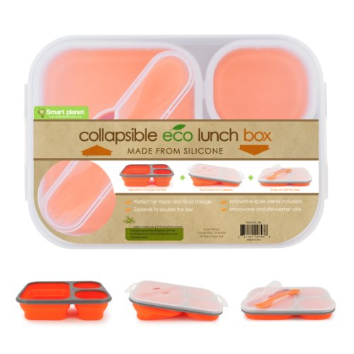 Smart Planet Collapsible Eco Meal Kit, Large , - Eco Plastic